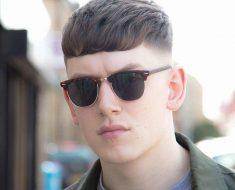 Straight Frinze Haircut for Men 2018