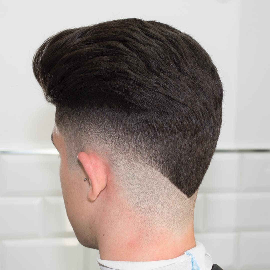 V Back Popular Haircut For Men in 2018