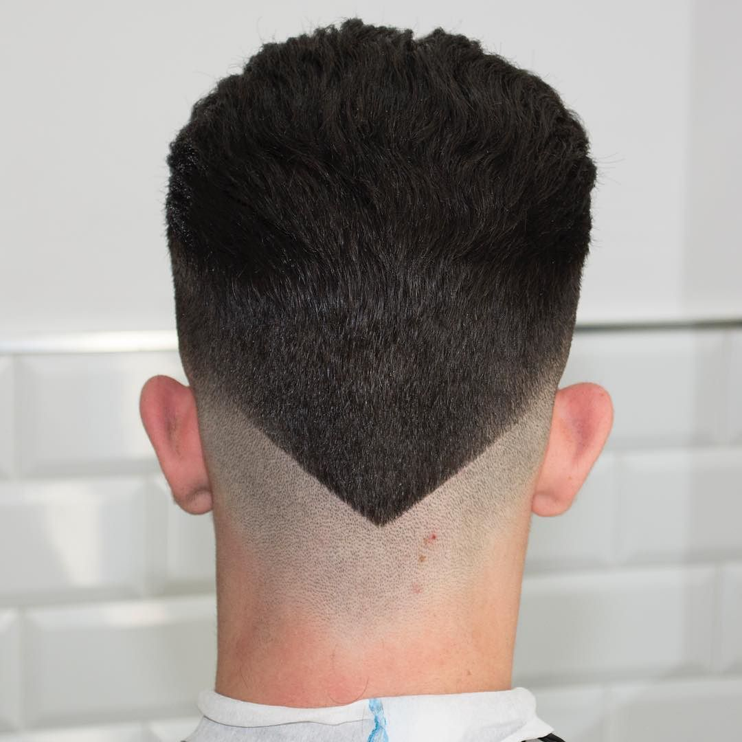 V cut Popular Haircut For Men in 2018