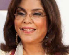 Zeenat Aman Bollywood Actress Hairstyle