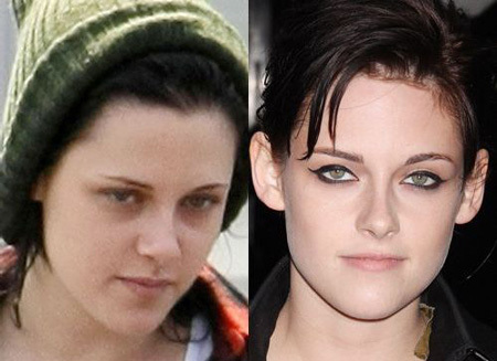 Kristen Stewart No Make Up