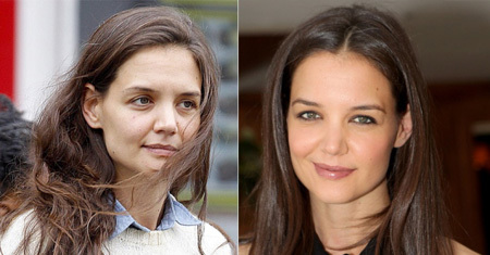 Katie Holmes No Make Up