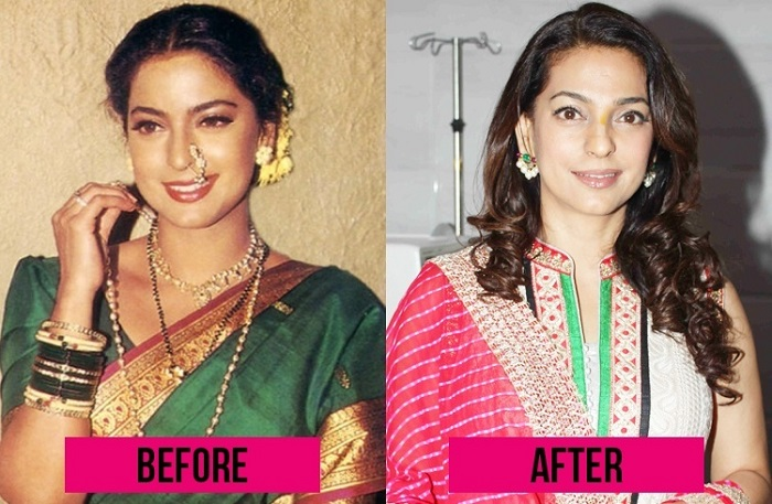 Juhi Chawla Bollywood Actress Plastic Surgery