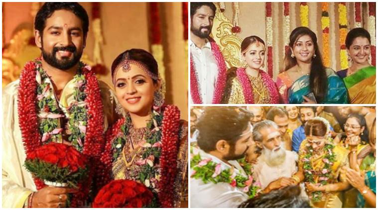 Bhavana weds Naveen photos indian celebrities wedding 2018