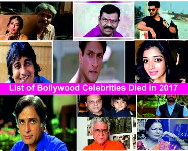 indian celebrities death 2017