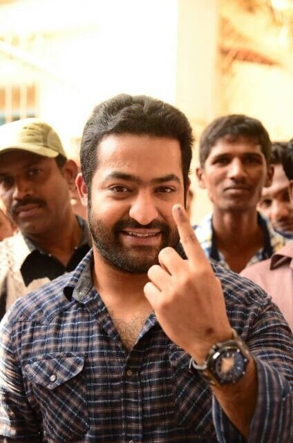 jr. ntr No Makeup