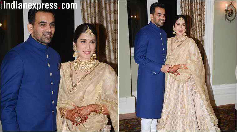 Sagarika Ghatge Zaheer Khan Wedding 2017