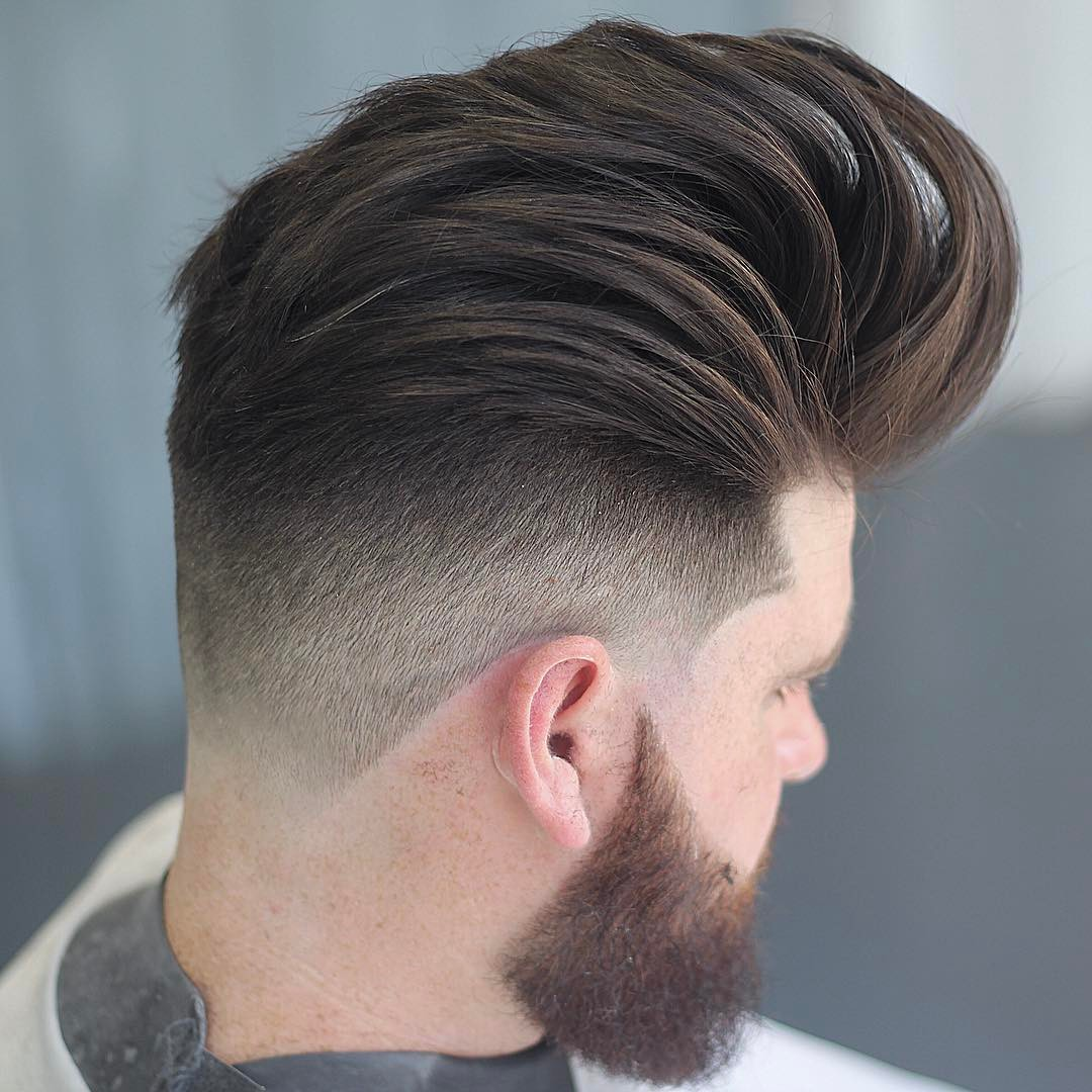 undercut fade Popular Haircut For Men in 2018