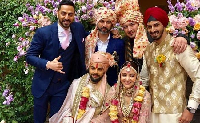 Anushka Sharma &Virat Kohli Wedding 2017
