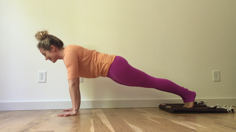 Step 1 Core Prep for Crow Pose