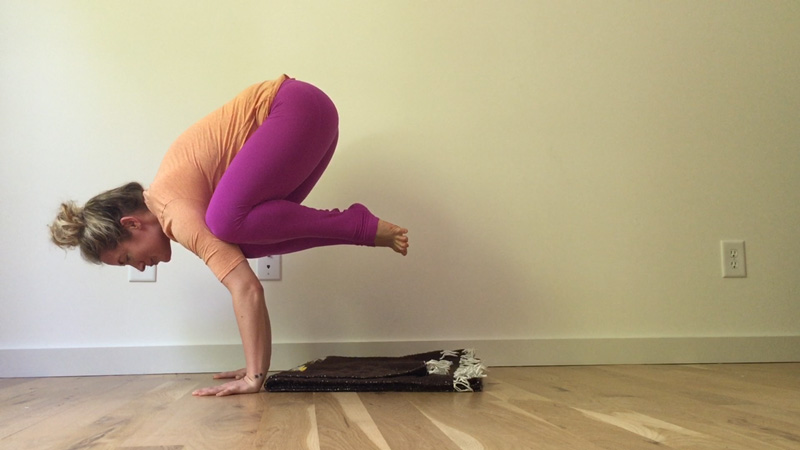 Final Step Core Prep for Crow Pose