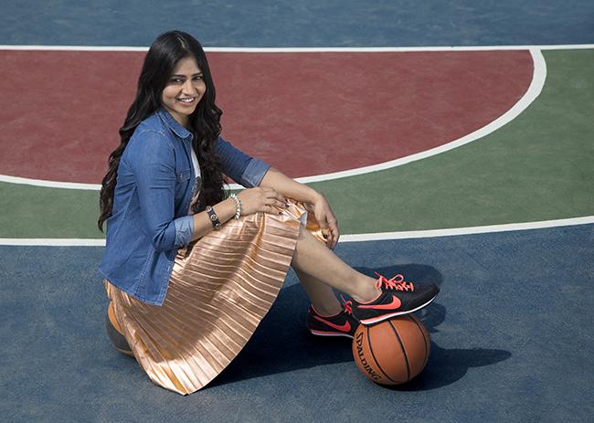 Akanksha Singh most beautiful sportswomen in India.