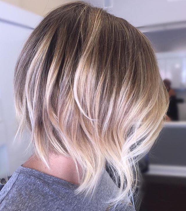 Balayage Bob Hairstyles for Girls with Medium Hair