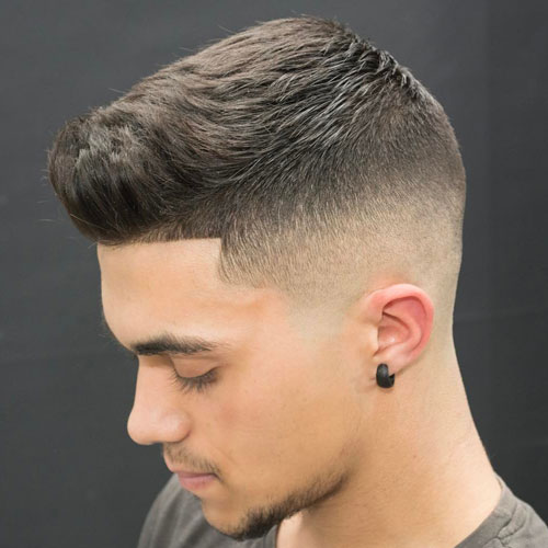 Bald Fade Hairstyle for Men 2018