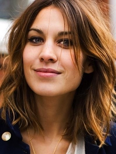 BedHead Waves Hairstyles for Girls with Medium Hair