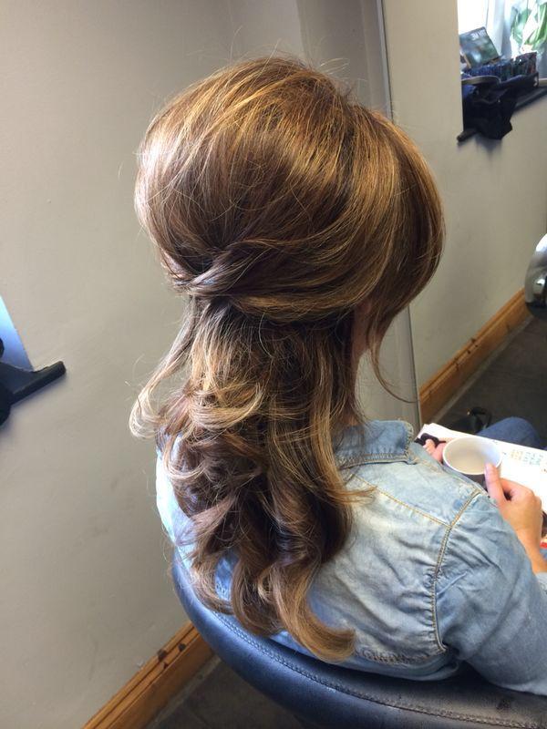 Blow-Dried Curls