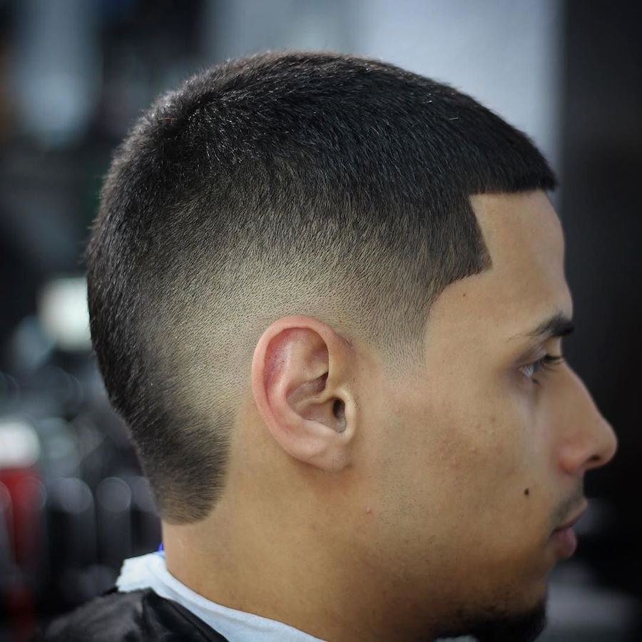 Burst Fade Hairstyle for Men 2018
