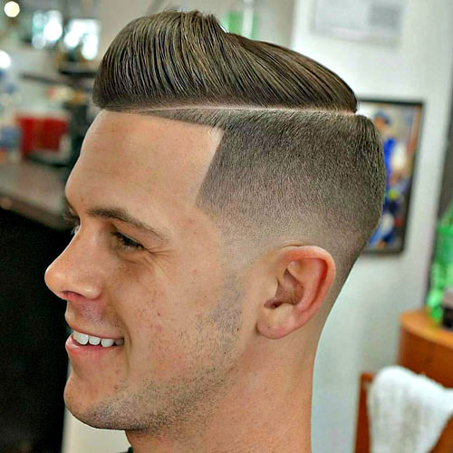 Buzz Fade Hairstyles for Boys