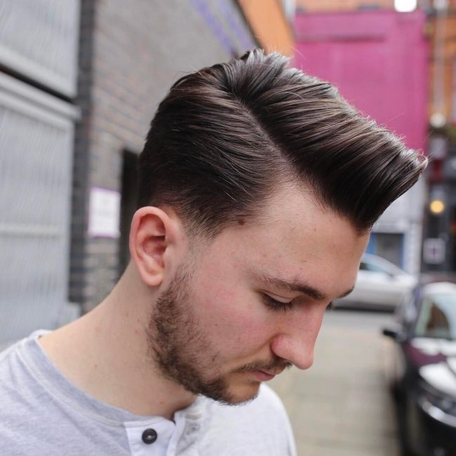 Combover with Taper Hairstyles for Boys