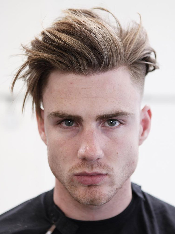 Dirty Hair Flow Hairstyle for Men 2018
