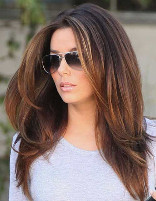 Dual Layered Straight Hairstyle for Women