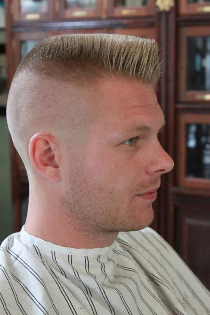 Flat Crew Cut Hairstyle for Men 2018