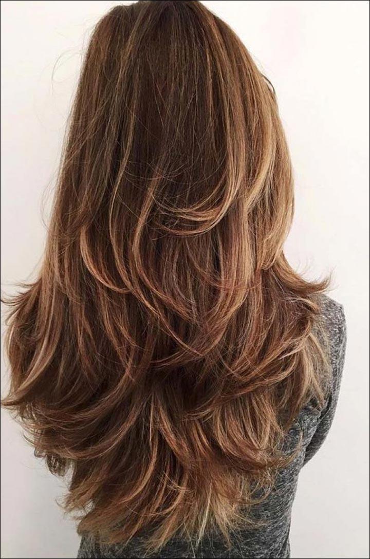 Flip Long Hairstyles