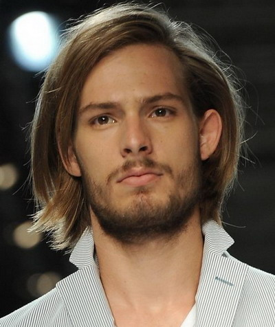 Flowing Bob Hairstyle for Men 2018