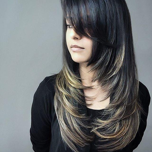Framing Layer Cut Long Hairstyles