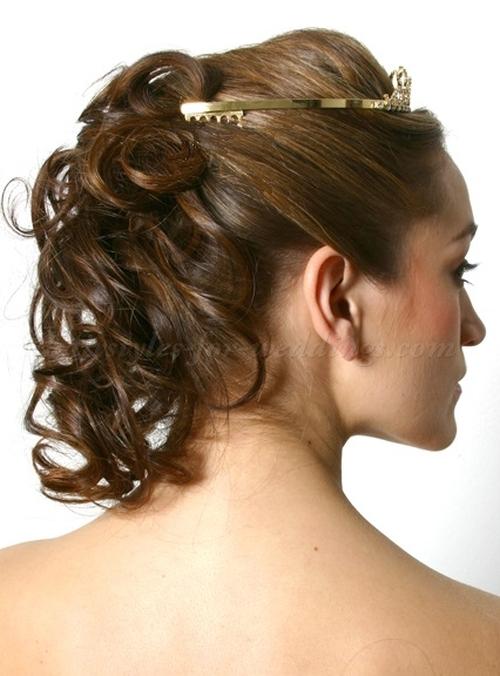 Half Up Curls