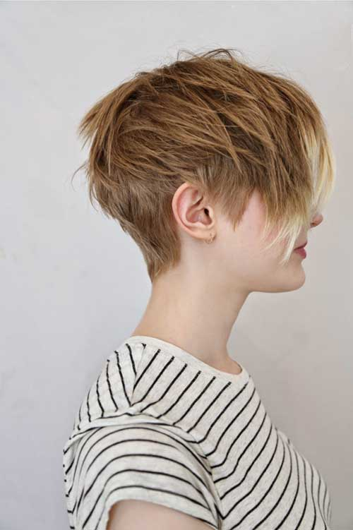 Layered Pixie Hairstyle for Women