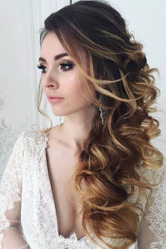 30 hairstyles for indian wedding and bridal in 2018 find health tips a bouffant effect could work in the middle of the hairstyle here it would use longer curves on the sides as well but the main bun surface should create a junglespirit Gallery