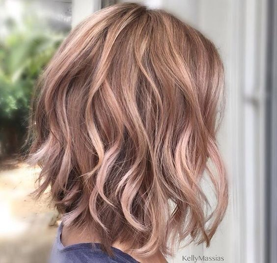 Light Soft Sass Look Hairstyles for Girls with Medium Hair