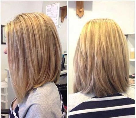 Long Layered Bob Hairstyle for Women