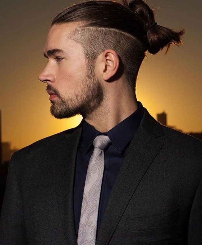 Long Undercut Hairstyle for Men 2018