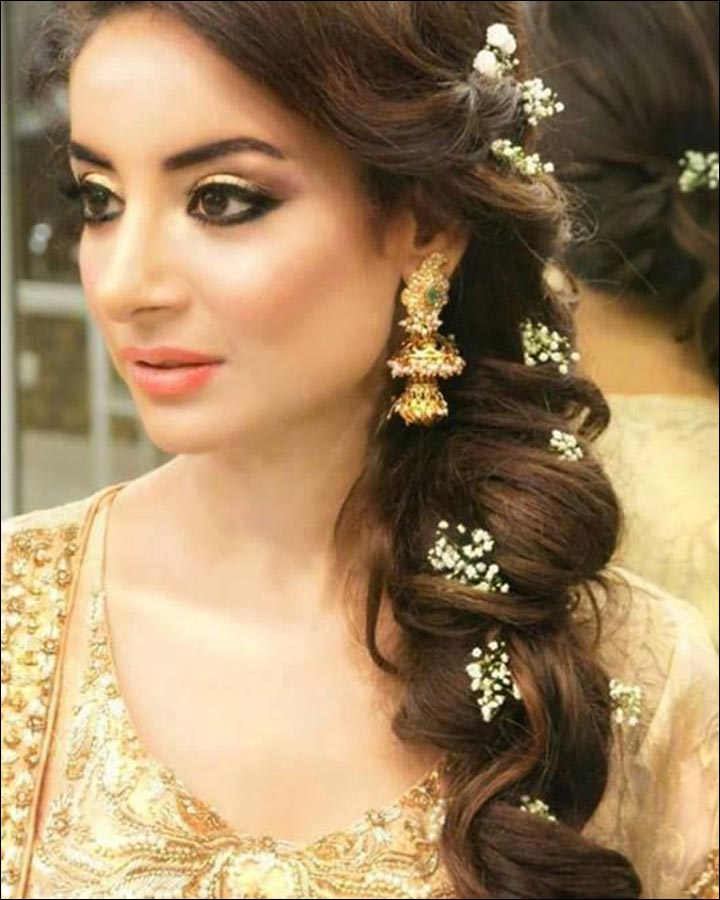 Indian Wedding Hairstyles Pictures: 30 Hairstyles For Indian Wedding (and Bridal) In 2019