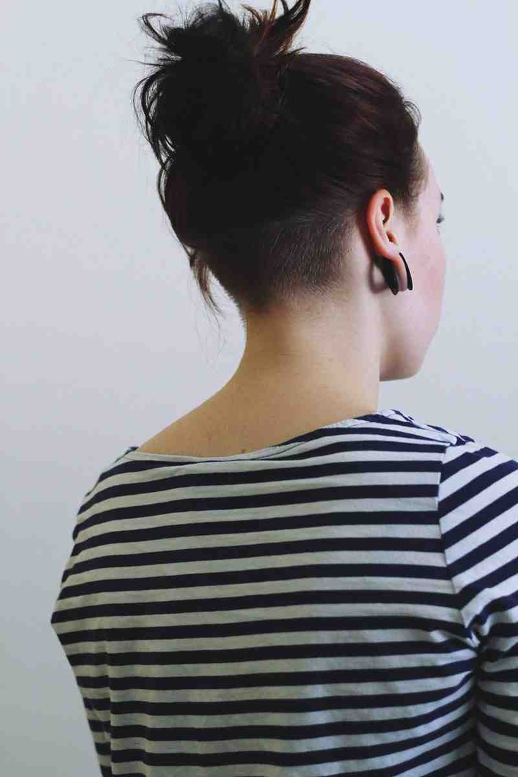 Nape Undercut Hairstyles For Women