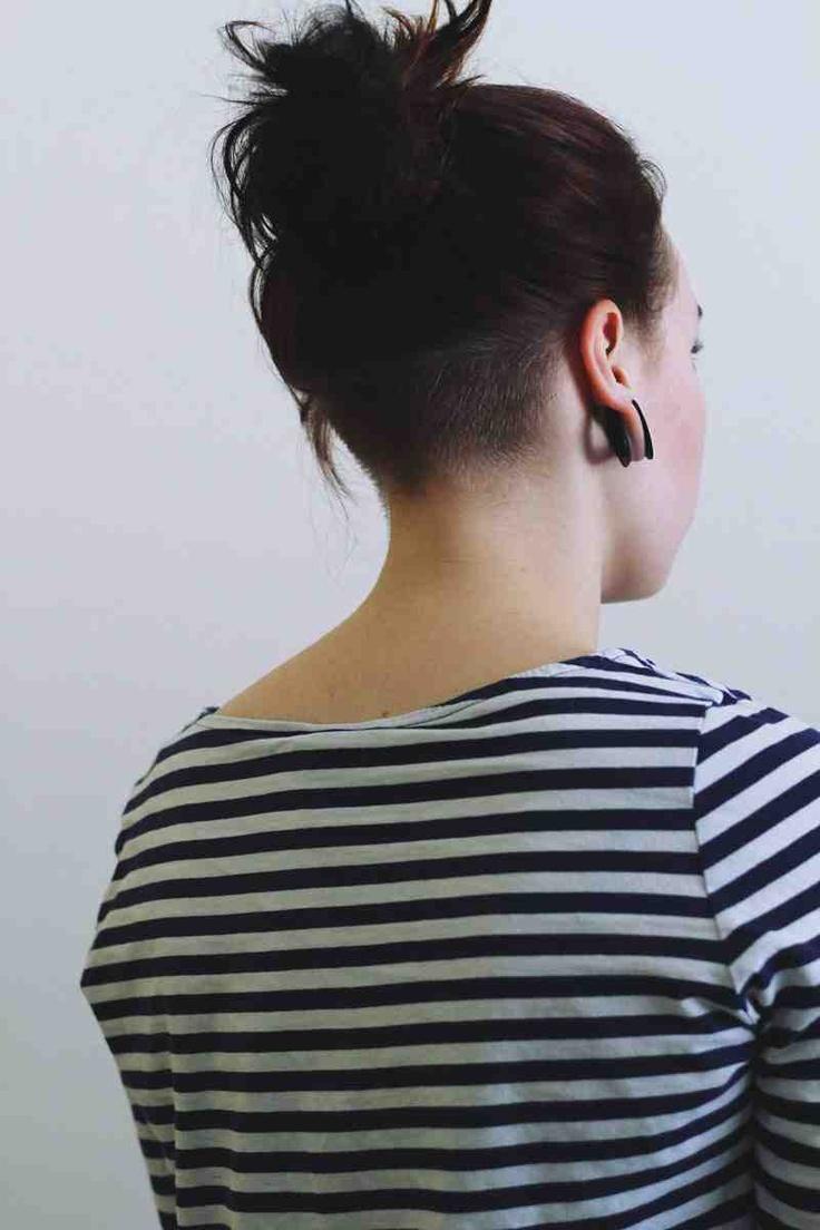 Nape Undercut Hairstyles For Women
