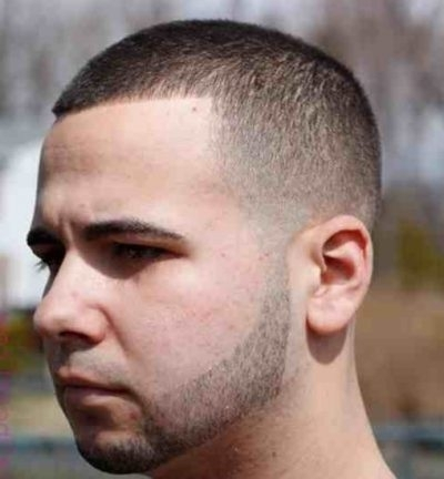 Pretty Buzz Cut Hairstyle for Men 2018