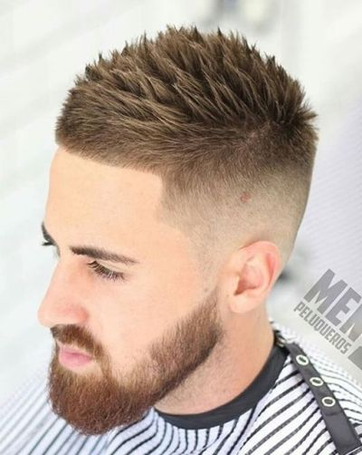 Reverse Fade Hairstyles for Boys