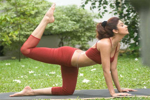 Shilpa Shetty Yoga