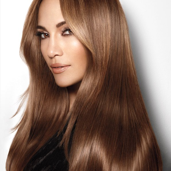 Shiny Glow Straight Hairstyle for Women
