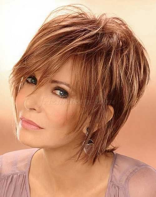 Short-Shag-Hairstyle for Women