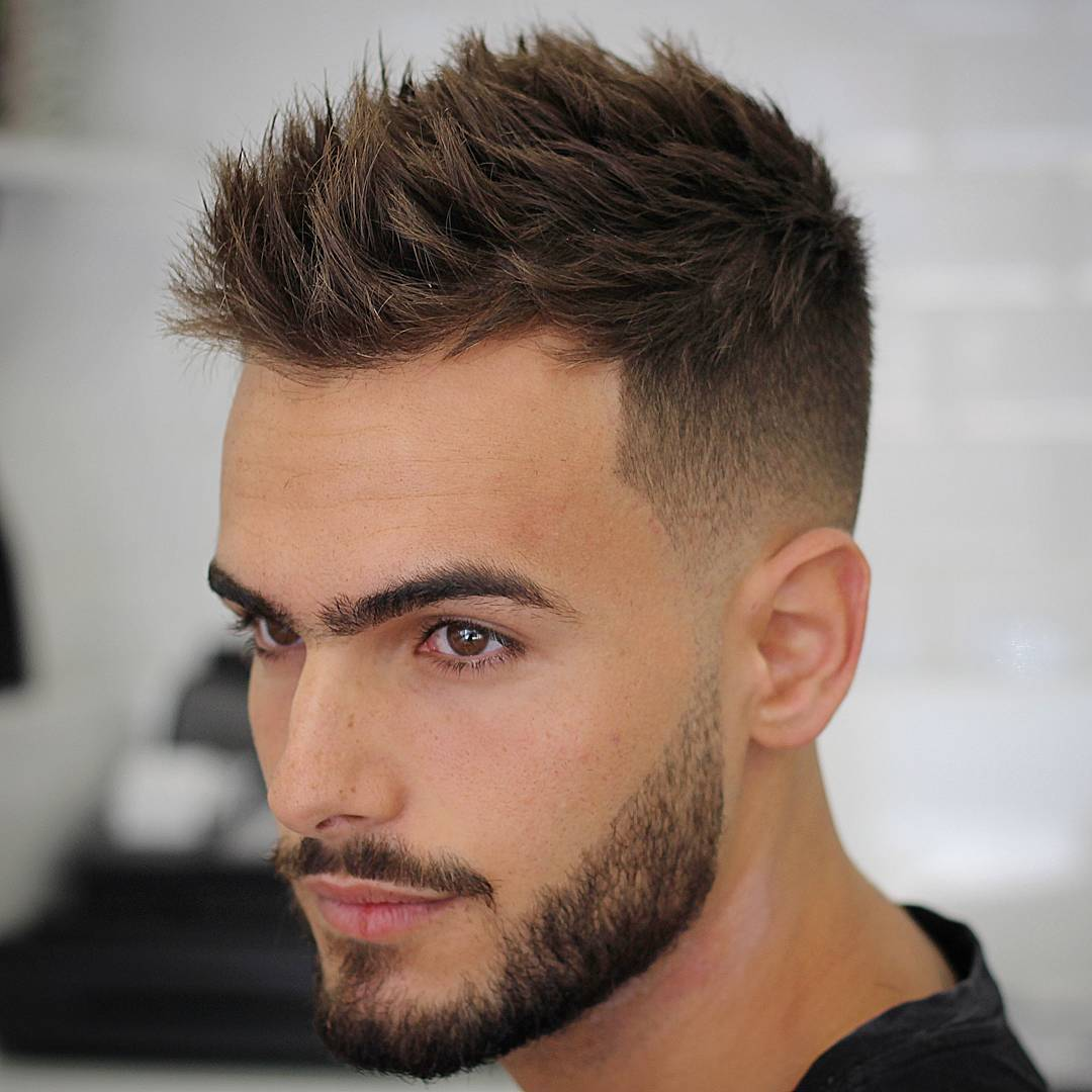Short Spikes Hairstyles for Boys