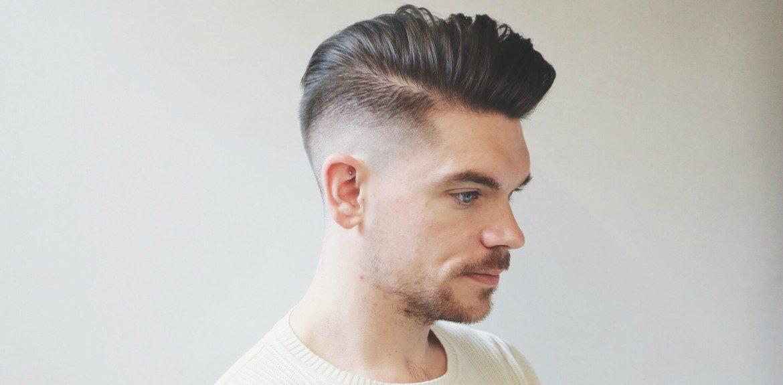 Side Pompador Hairstyle for Men 2018