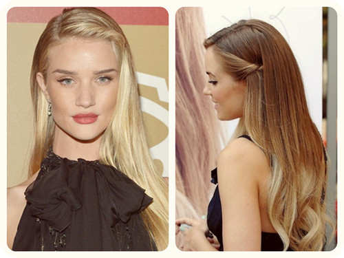 Slight Fringe Twist Straight Hairstyle for Women