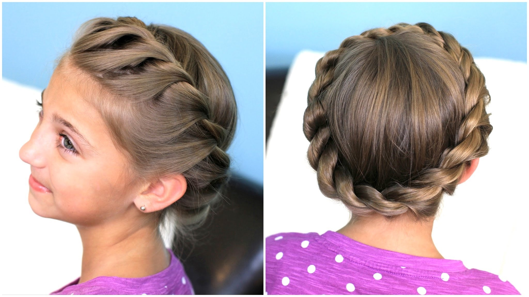 Slight Twist Hairstyle for Women
