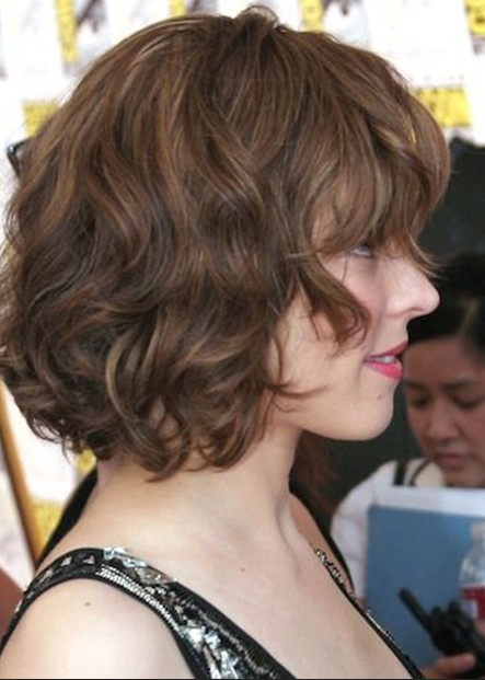Soft Curly Bob Hairstyles For Women