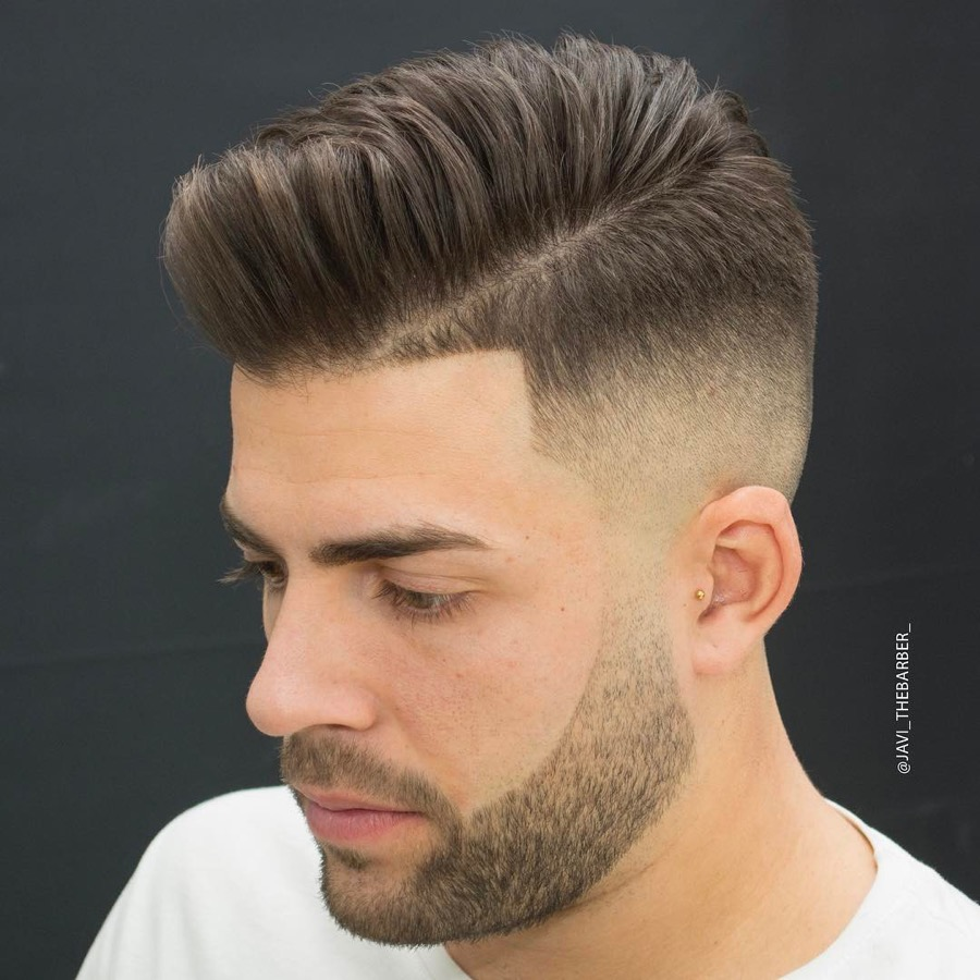 Step Fade Hairstyles for Boys
