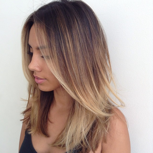 Straight Layers Hairstyles for Girls with Medium Hair